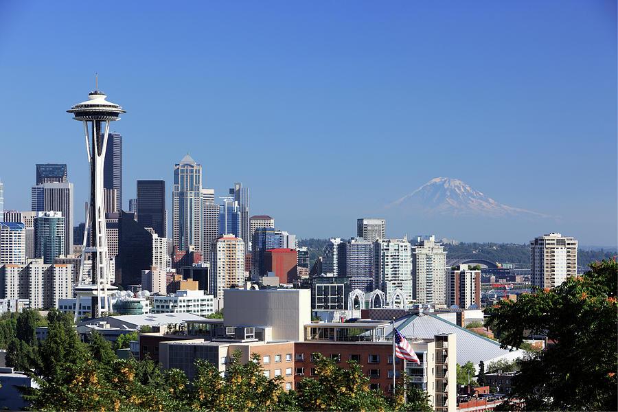 Seattle, Wa Photograph by Veni