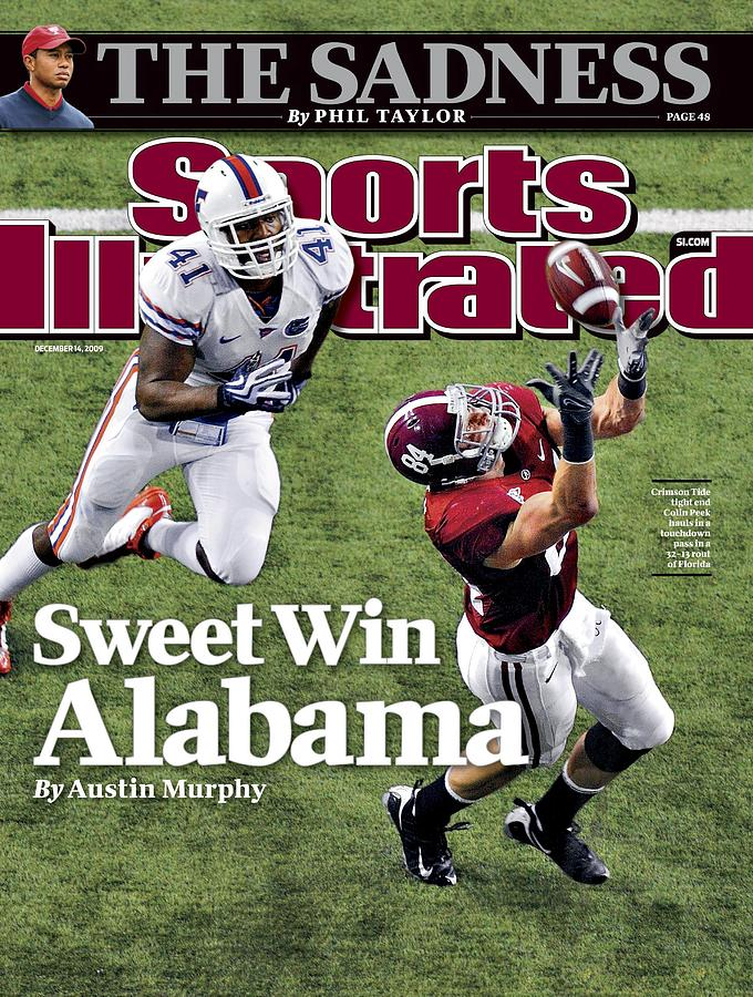 Sec Championship - Alabama V Florida Sports Illustrated Cover Photograph by Sports Illustrated