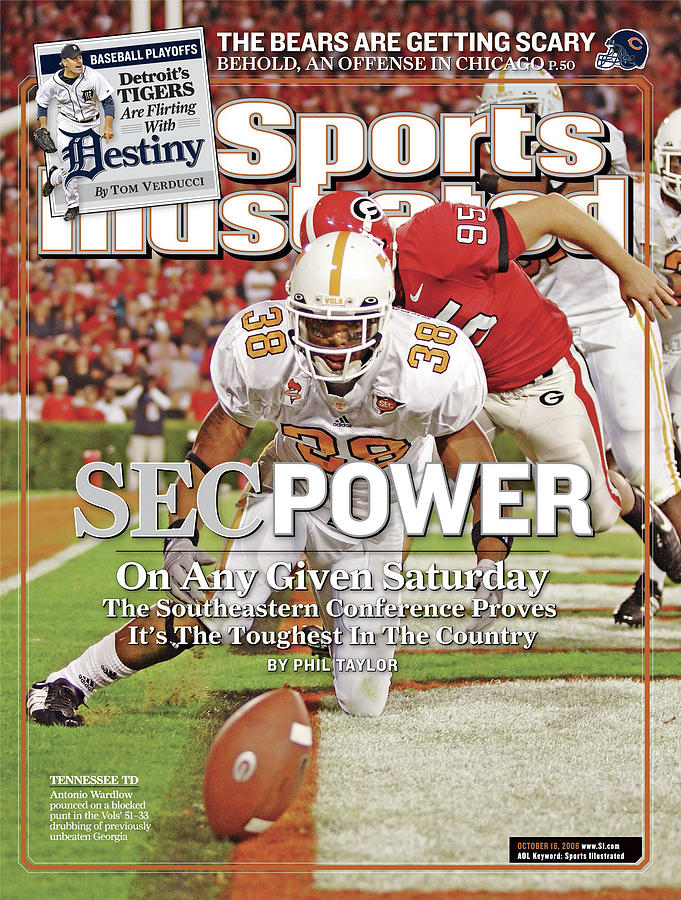 Sec Power On Any Given Saturday The Southeastern Conference Sports Illustrated Cover Photograph by Sports Illustrated