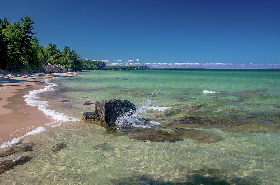 Secluded Beach by Gary McCormick