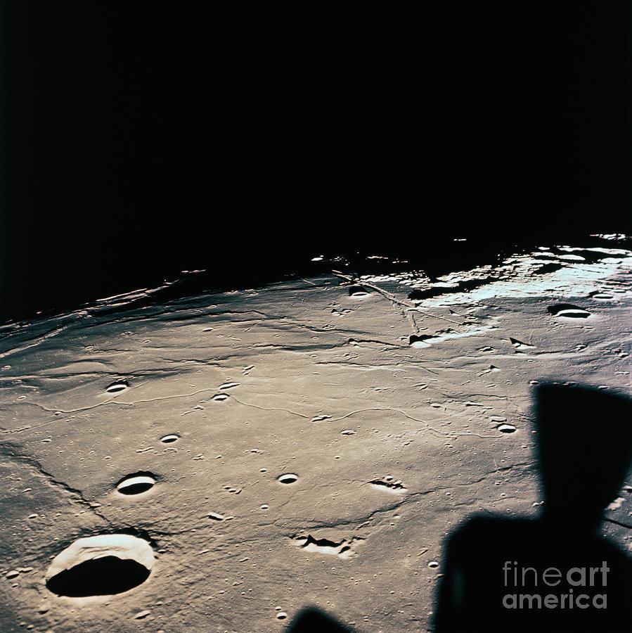 Second Lunar Landing Site On Surface Photograph by Bettmann