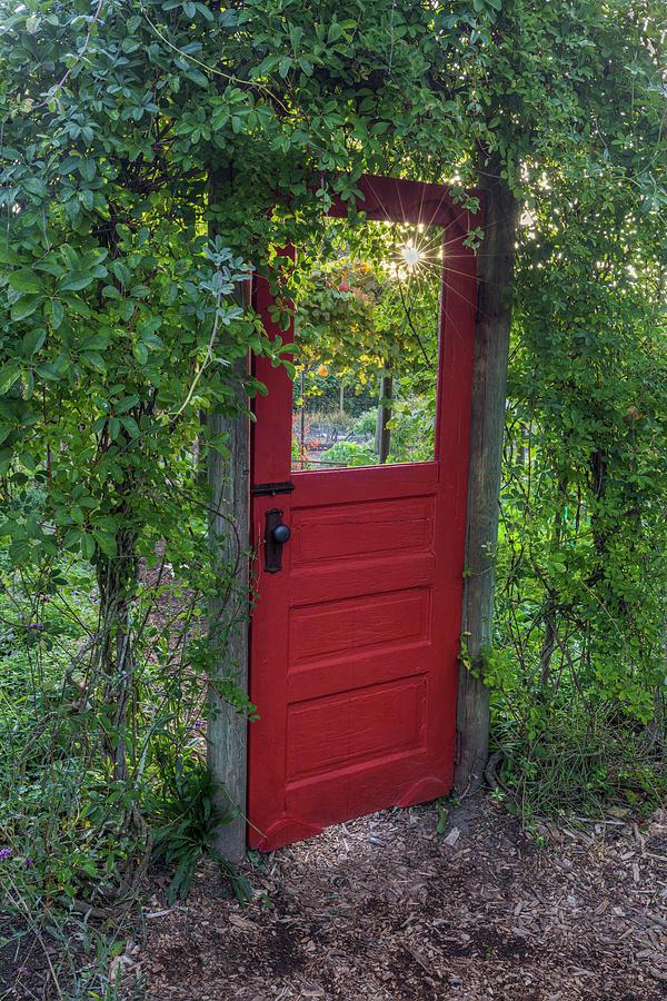 Secret Garden Door by Mark Kiver