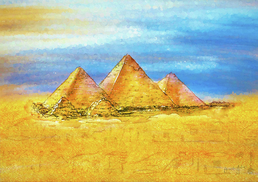 Watercolour Mixed Media - Secrets In The Sand II by Amanda Lakey