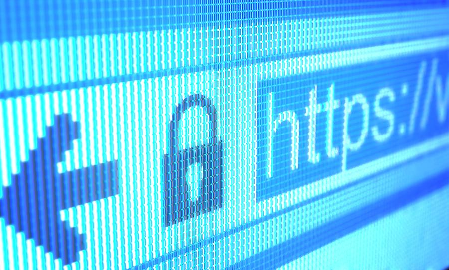 Secure Website Photograph by Ktsdesign