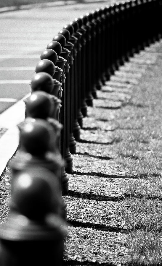 Security Bollards Photograph by Justin Hoffmann Photography