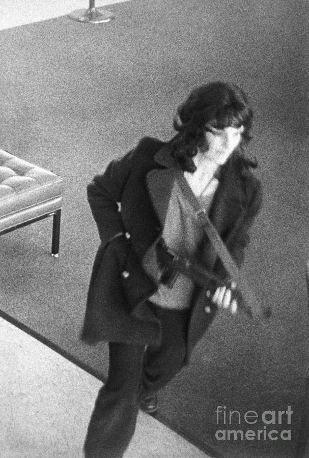 Security Photo Of Woman Resembling Photograph by Bettmann