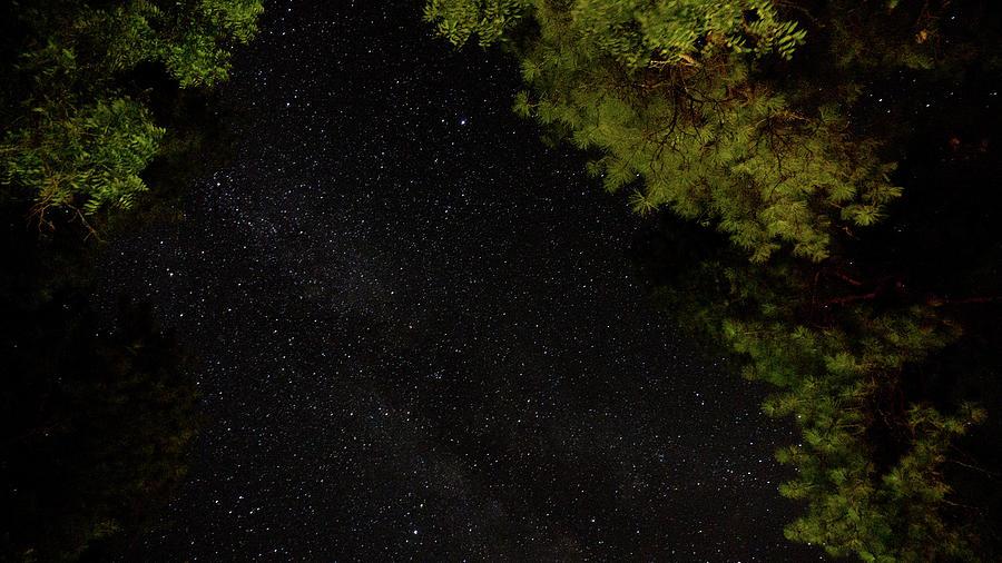 Sedona Arizona Night Sky  by Ants Drone Photography