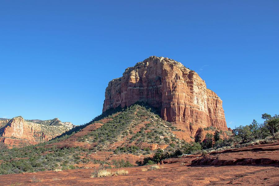 Sedona Red Rocks and Blue Sky by Amy Sorvillo