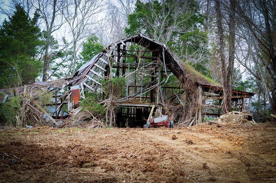 See Through Barn 1 by Douglas Barnett