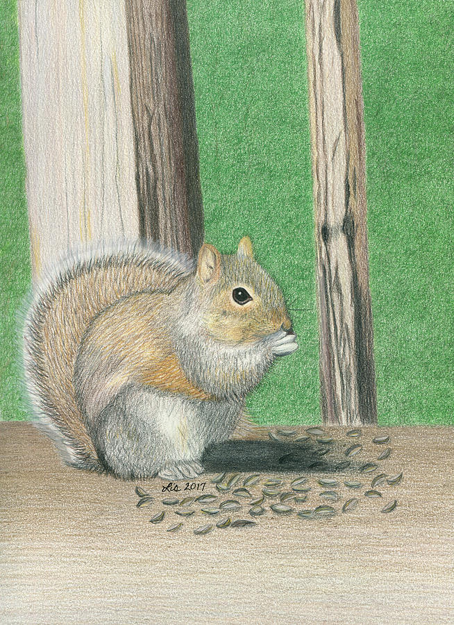 Seedy Squirrel by Lisa Blake