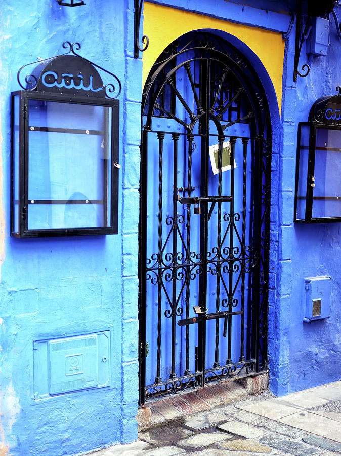 Seeing Blue in Seville by John Rizzuto
