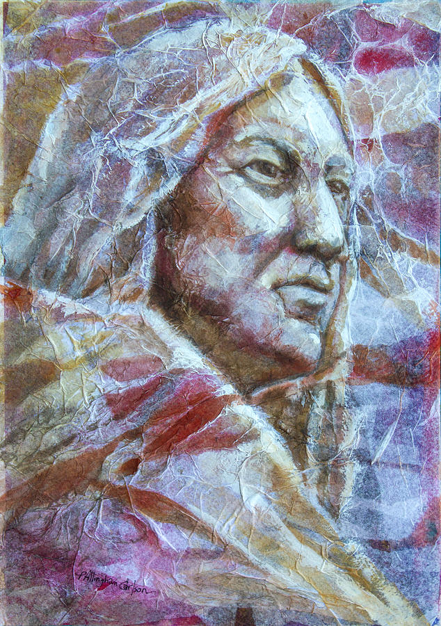 Native American Painting - Seeking Spirit by Patricia Allingham Carlson
