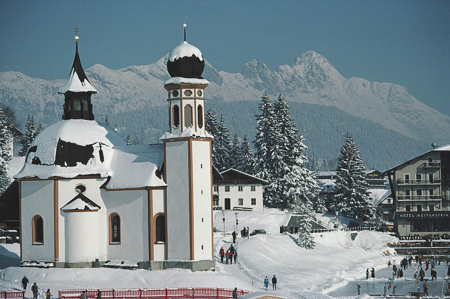 Seekirchl In Seefeld Photograph by Slim Aarons