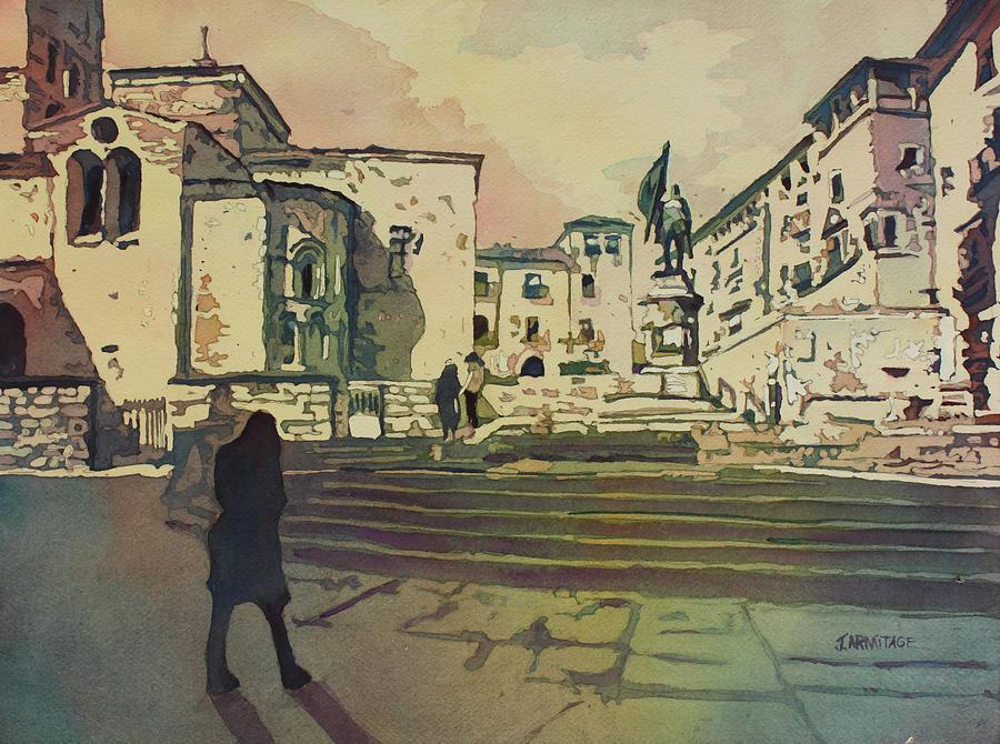 Segovia Monument by Jenny Armitage