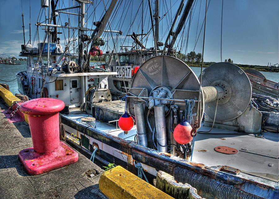 Seiners Dockside by Doug Matthews