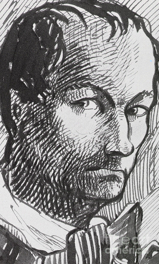 Self Portrait, circa 1860 by Charles Baudelaire