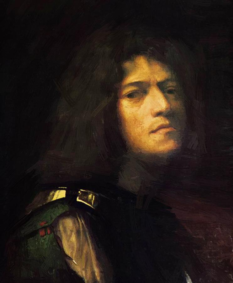 Self Painting - Self Portrait by Giorgione