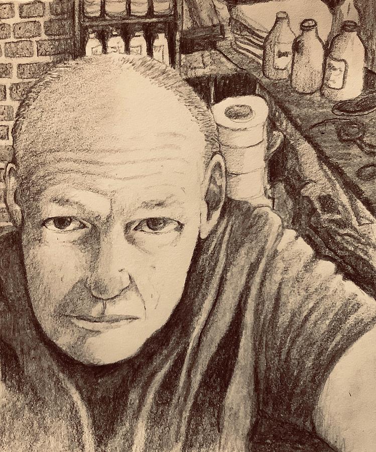 Self-Portrait by James Huntley