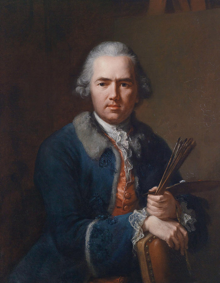 Self portrait by Johann Heinrich Tischbein