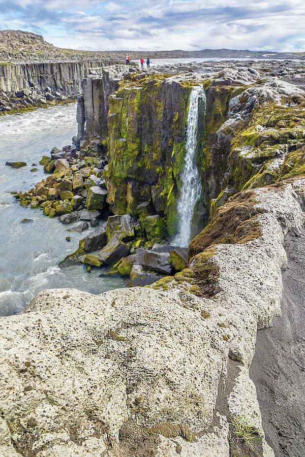 Selfoss Waterfall - Iceland by Marla Craven