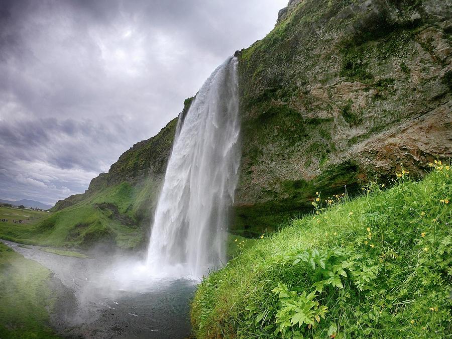 Seljalandsfoss Falls Iceland 6291901 by Rick Veldman
