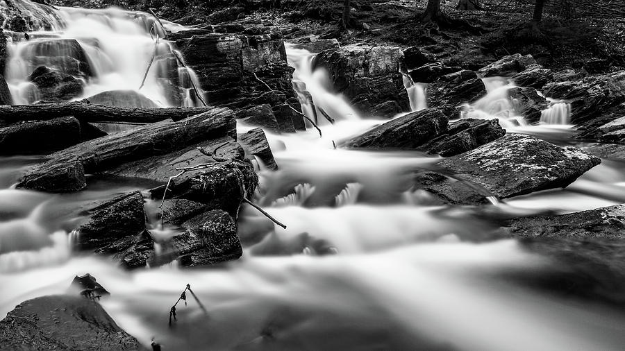 Selkefall, Harz in monochrome by Andreas Levi