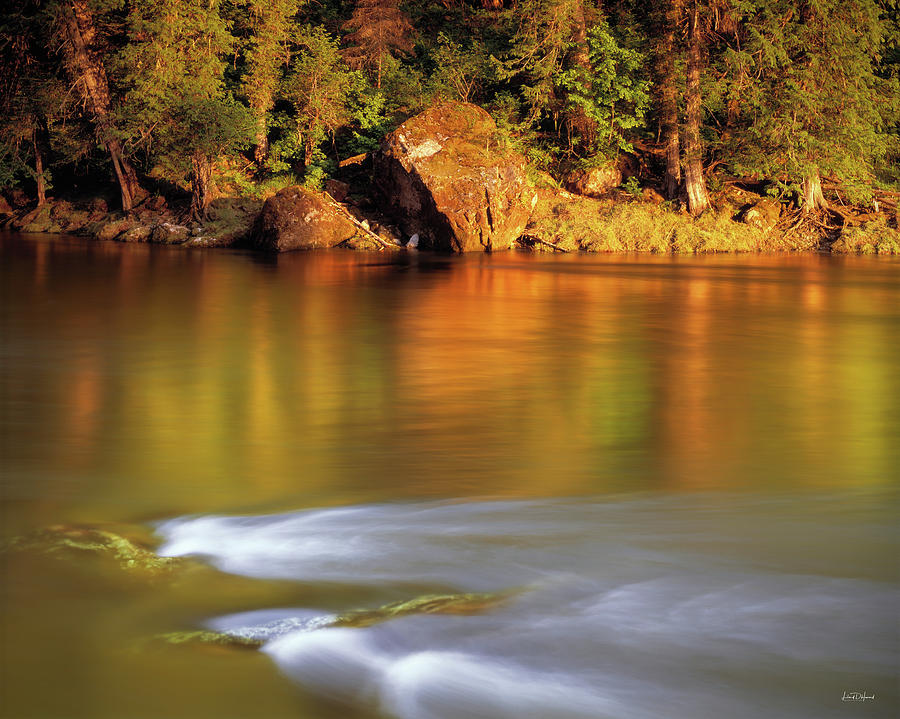 Selway River Photograph - Selway River by Leland D Howard