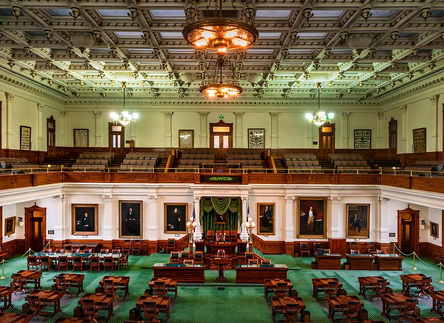 Senate Chamber - Texas State Capitol, Austin Photograph by Mountain Dreams