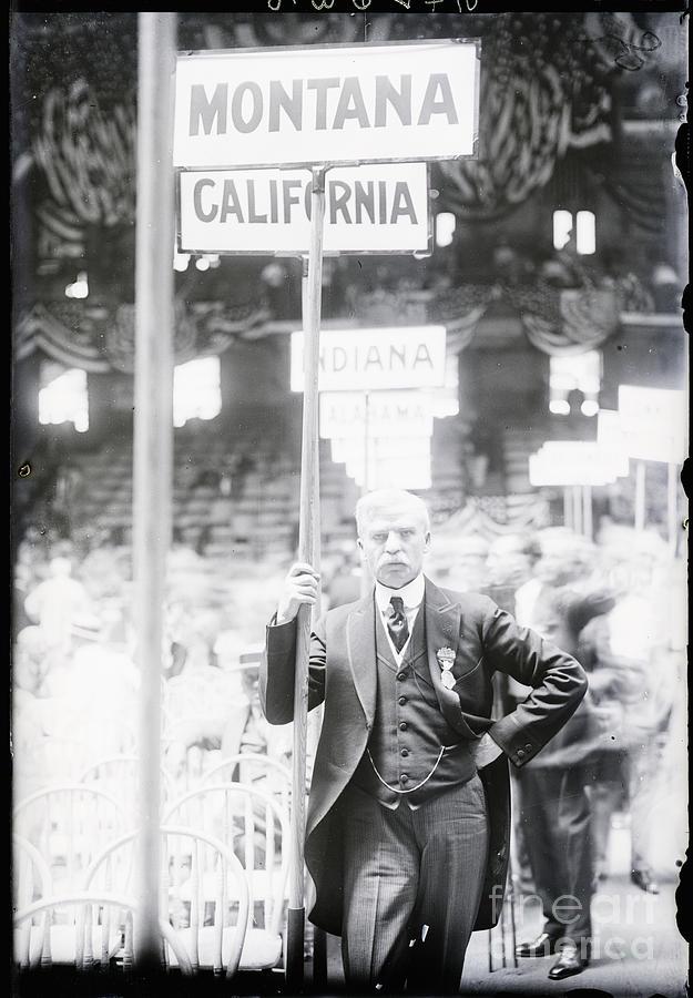 Senator Walsh Next To Sign Photograph by Bettmann