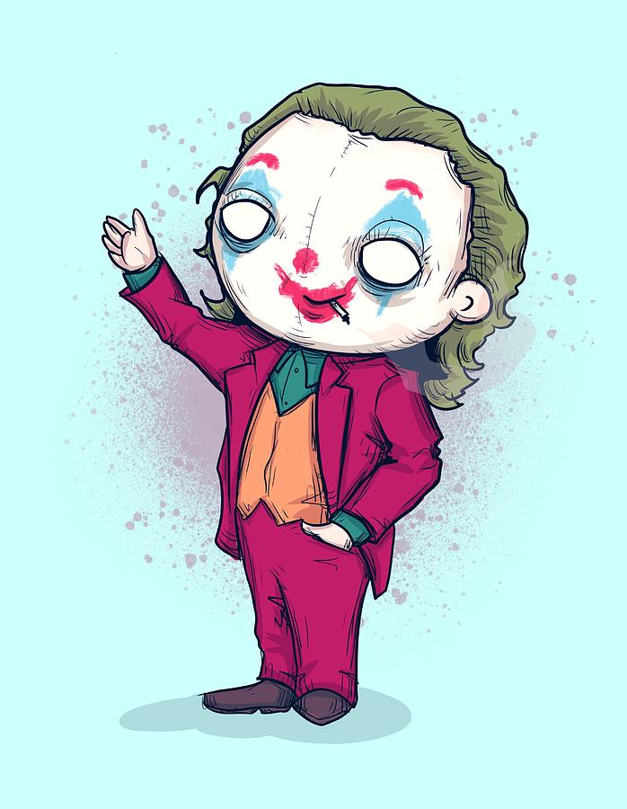 Clown Drawing - Send In The Clowns by Ludwig Van Bacon