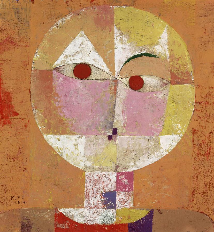 Paul Klee Painting - Senecio, Soon To Be Aged by Paul Klee