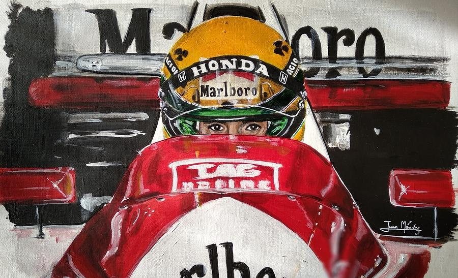 Senna ready by Juan Mendez