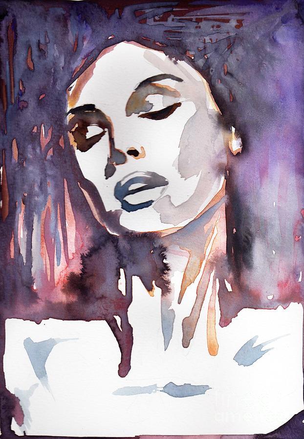 sensual woman 2 by Katarzyna Bruniewska-Gierczak