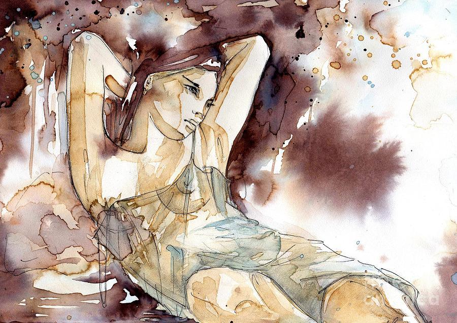 sensual woman by Katarzyna Bruniewska-Gierczak