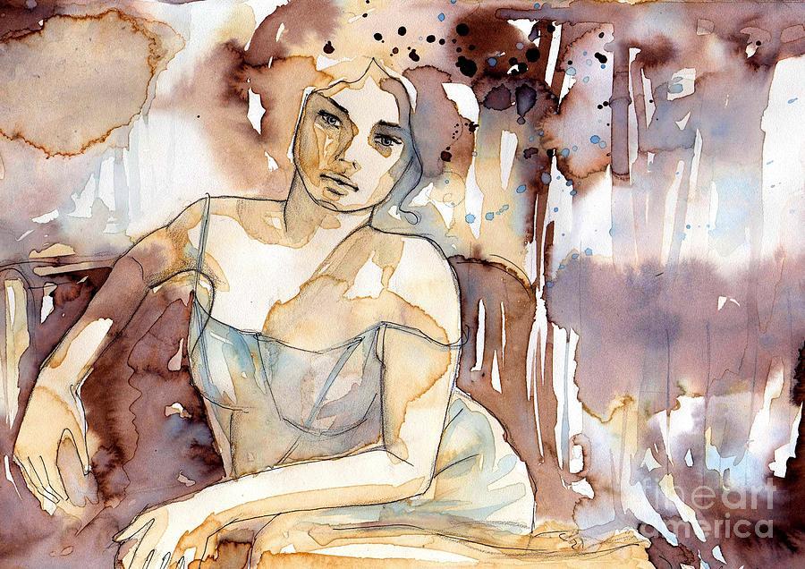 sensual woman retro by Katarzyna Bruniewska-Gierczak