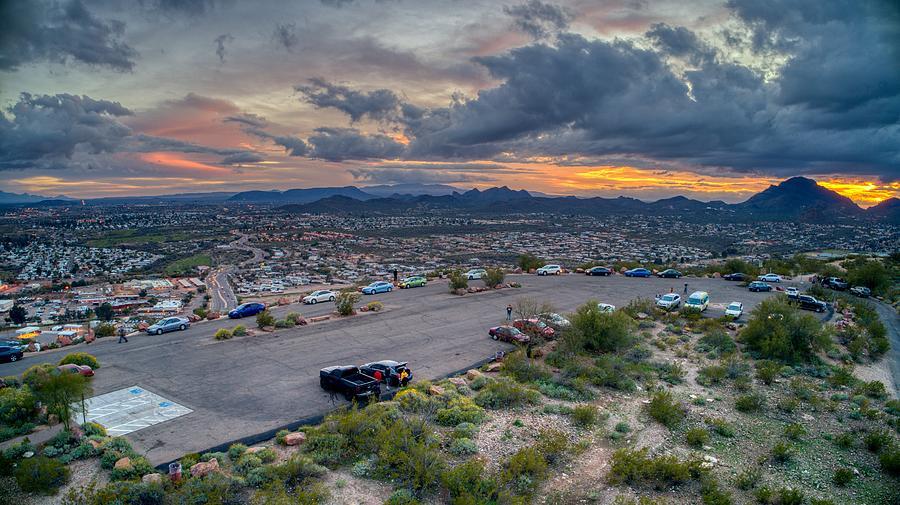 Sentinel Park Tucson Arizona Sunset by Anthony Giammarino