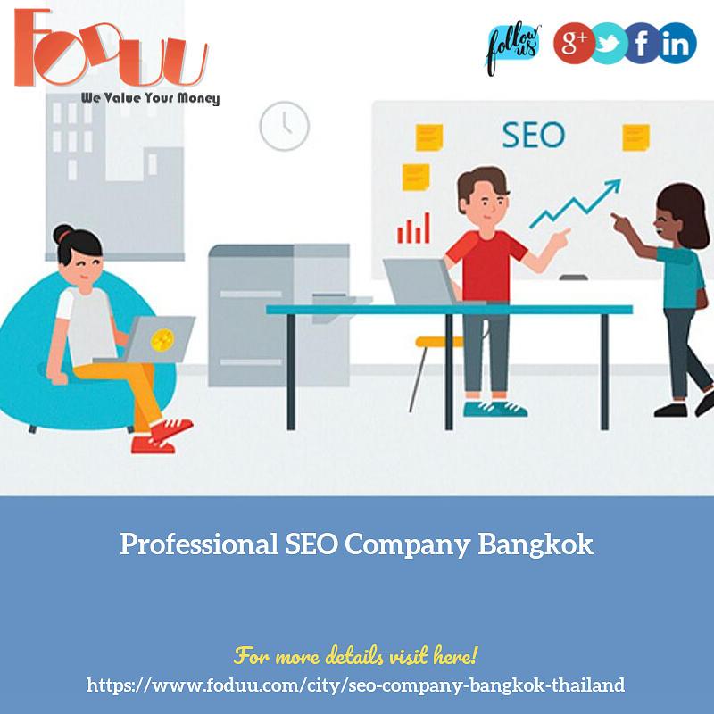 Seo Company Bangkok Mixed Media By Foduu Web Design