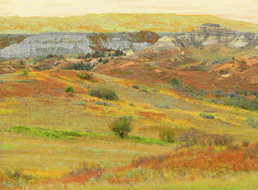 North Dakota Photograph - September In The Realm Of West Dakota by Cris Fulton