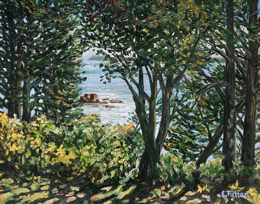 September Morning, West Quoddy Head, Lubec, Maine by Eileen Patten Oliver