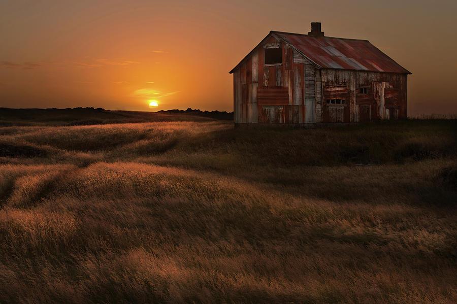 Landscape Photograph - September Sun by Bragi Ingibergsson -