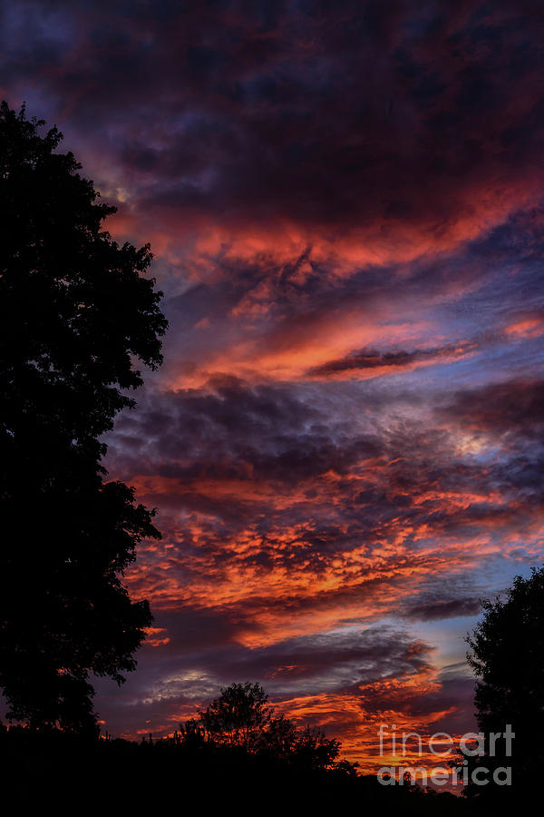 September Sunset Afterglow by Thomas R Fletcher
