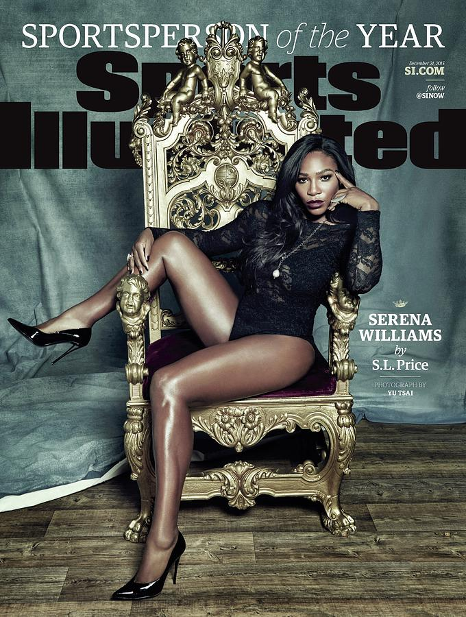 Serena Williams, 2015 Sportsperson Of The Year Sports Illustrated Cover Photograph by Sports Illustrated
