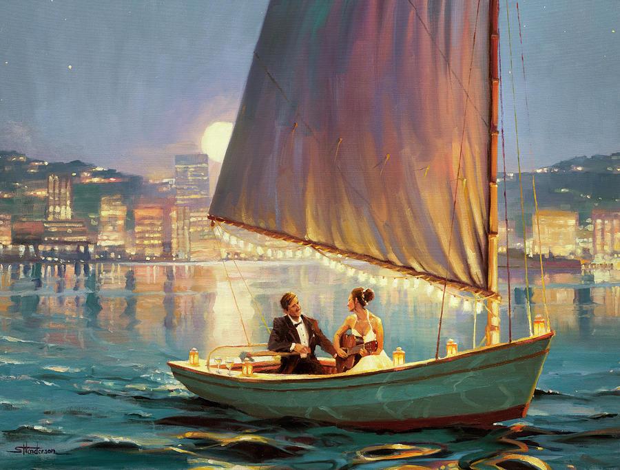 Romance Painting - Serenade by Steve Henderson
