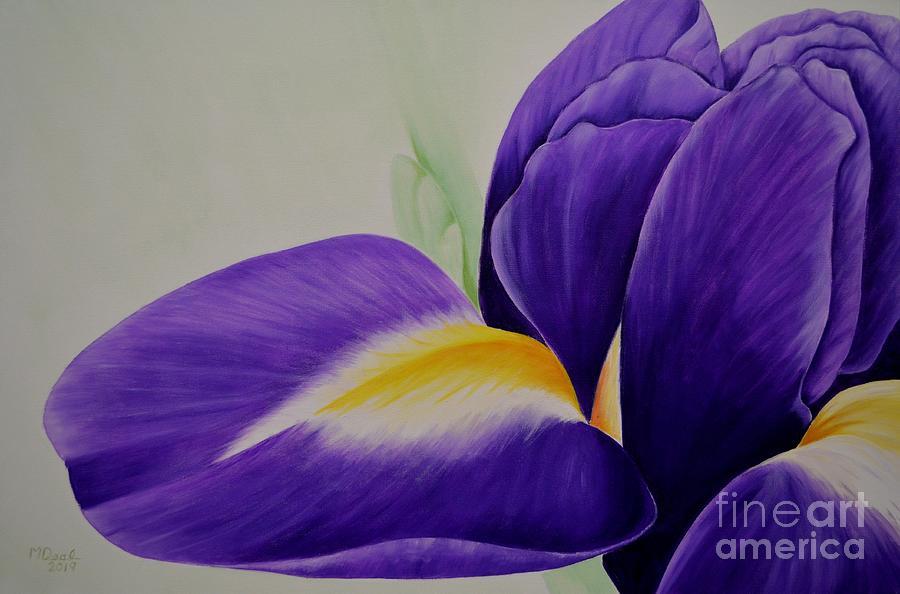Serenata Iris Painting
