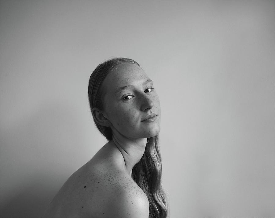 Portrait Photograph - Serene by Neka
