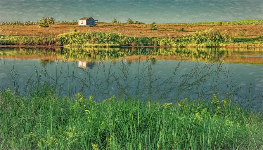 Serenity Across the Bay by Marcy Wielfaert