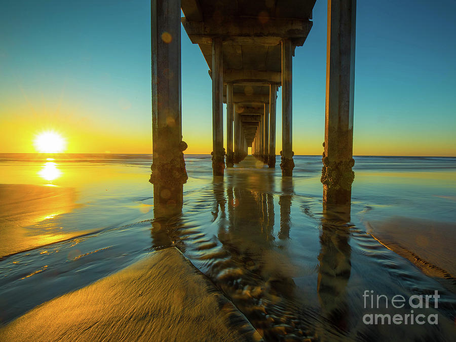 Serenity in San Diego Sunset 2 by Edward Fielding