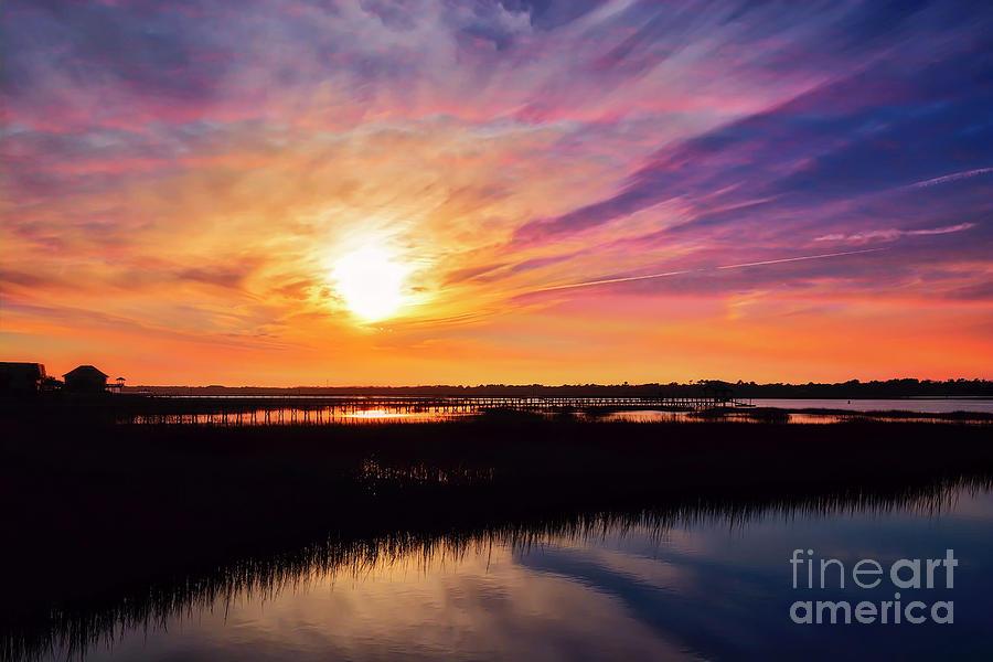 Serenity Sky by Kathy Baccari
