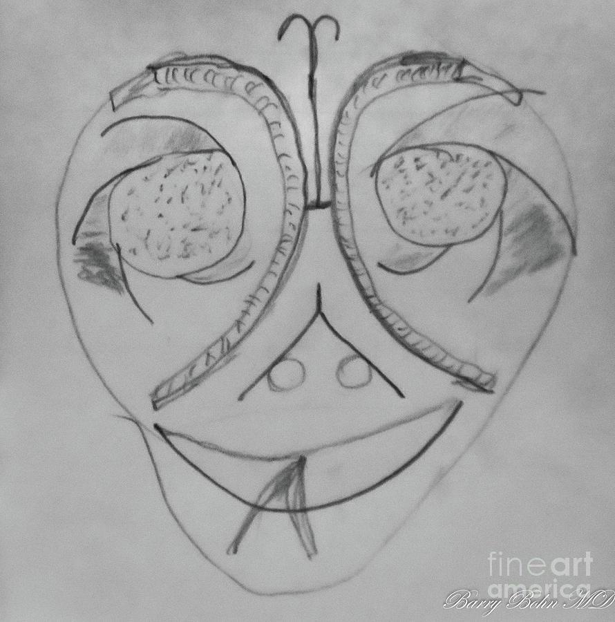 Serpent mask by Barry Bohn