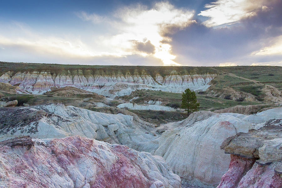 Setting Sun at Paint Mines by Amy Sorvillo